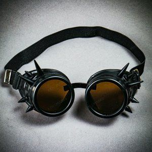 Steampunk Spikes Goggles Victorian Welding Cyber